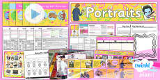 PlanIt - Art KS1 - Portraits Unit Pack