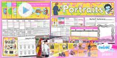 PlanIt - Art KS1 - Portraits Unit Pack