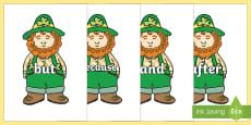 Connectives on Leprechauns