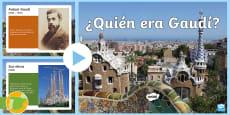 * NEW *  Presentación: ¿Quién era Gaudí?