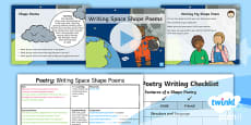 * NEW * PlanIt Y1 Space: To Support Teaching on Whatever Next! Lesson Pack Poetry (2)
