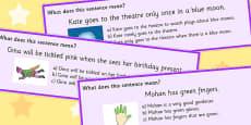 Colour Idioms Multiple Choice Cards