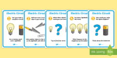 Electric Circuit Activity Sheet Pack (Bulb)