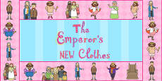 The Emperors New Clothes Display Borders