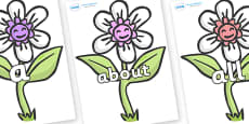 100 High Frequency Words on Flowers