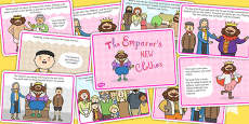 The Emperor's New Clothes Story Cards
