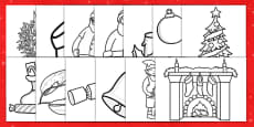 Australia - Christmas Colouring Pages