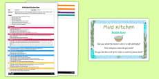 Bubble Buns EYFS Mud Kitchen Plan and Prompt Card Pack