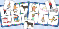Matching Mat SEN to Support Teaching on Biscuit Bear