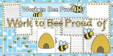Work to Bee Proud of Display Pack