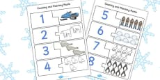 Polar Regions Counting Puzzle