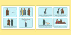 The Prodigal Son Story Sequencing (4 per A4)