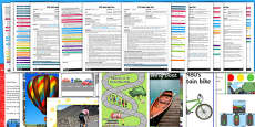 EYFS Transport Themed Adult Input Planning and Resource Pack