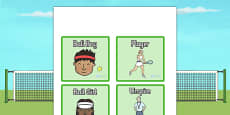 Wimbledon Role Play Badges