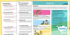 PlanIt - Art LKS2 - British Art Planning Overview CfE
