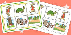 The Tortoise and The Hare SEN Matching Mat