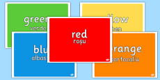 Colours Display Pack Romanian Translation