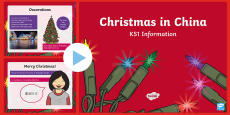 KS1 Christmas in China PowerPoint