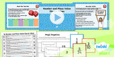 PlanIt Y6 Number and Place Value Starter Ideas Pack