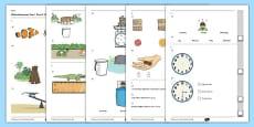Year 1 Maths Assessment: Measurement Term 2