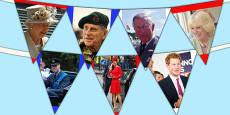 Australia - Royal Family Photo Display Bunting