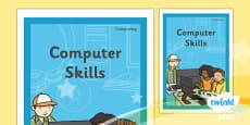 PlanIt - Computing Year 1 - Computer Skills Unit Book Cover