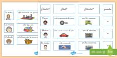 * NEW * Tarjetas de clasificar: Secuenciar frases