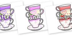 Connectives on Teacups