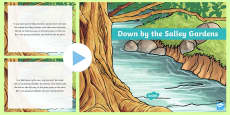 Down by the Salley Gardens Song PowerPoint