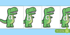 Phase 2 Phonemes on T Rex Dinosaurs
