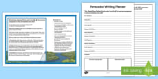 Should New Zealand Water Be Sold to Overseas Companies? Persuasive Writing Activity Sheet