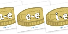 Modifying E Letters on Coins
