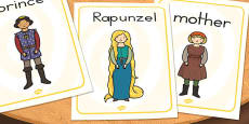 Rapunzel Display Posters