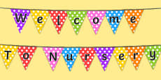 Welcome to Nursery Bunting