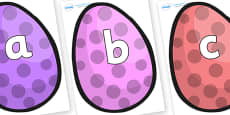 Phoneme Set on Easter Eggs (Spots)
