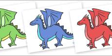 Editable Dragon (No Box)