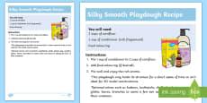 * NEW * Silky Smooth Playdough Recipe