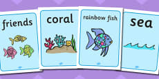 Display Posters to Support Teaching on The Rainbow Fish