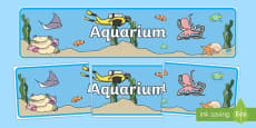 The Aquarium Role Play Display Banner
