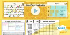 PlanIt Y4 Fractions Hundredths (1) Lesson Pack