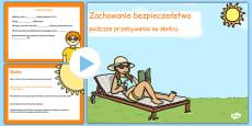 Sun Safety PowerPoint Polish