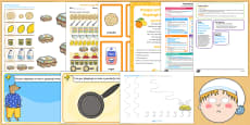 Childminder EYFS Pancake Day Activity Web and Resource Pack
