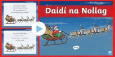 Daidí na Nollag, Dán PowerPoint Gaeilge