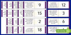 Year 3 Bonfire Night Fraction Loop Cards