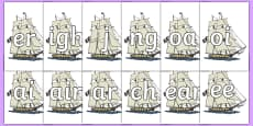 Phase 3 Phonemes on Pirate Ships