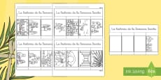 * NEW * Cuadernillo de ventanillas: La historia de la Semana Santa