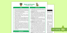 * NEW * Plants and Growth Fact Sheet for Adults