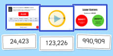Year 5 Numbers to 1000000 Lesson 1 Teaching Pack