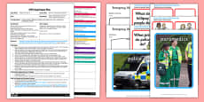 What's in the Emergency Vehicles? EYFS Adult Input Plan and Resource Pack