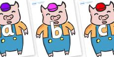 Phoneme Set on Little Pig